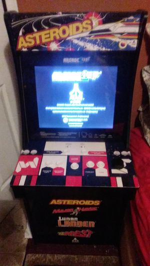 Asteroids arcade 4 games in great condition games are asteroids,major havoc,lunar ladder,and tempest 1 and 2 players need gone for Sale in Houston, TX