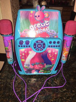 Dreamwork's Trolls poppy Sing along digital recorder for Sale in Stockton, CA