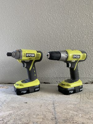 Ryobi Drill and Impact Driver for Sale in Olympia, WA