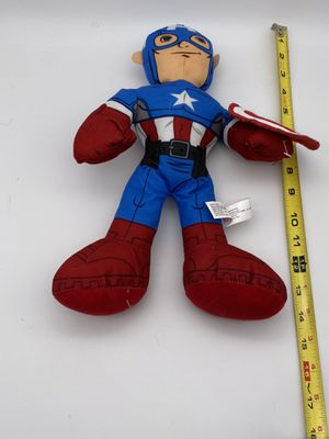 "Marvel Captain America Plush - 14"" for Sale in Derry, PA"