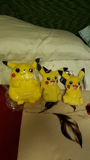 Pikachu Plushies for Sale in Los Angeles, CA