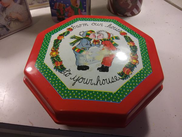Assorted Christmas Tins