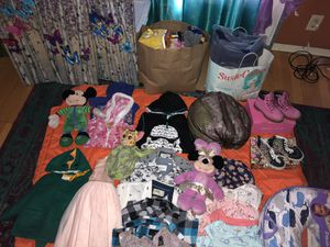 Used baby kids clothes , house decor and shoes for Sale in Los Angeles, CA