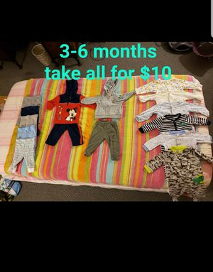 Baby for clothes for Sale in Madison Heights, VA