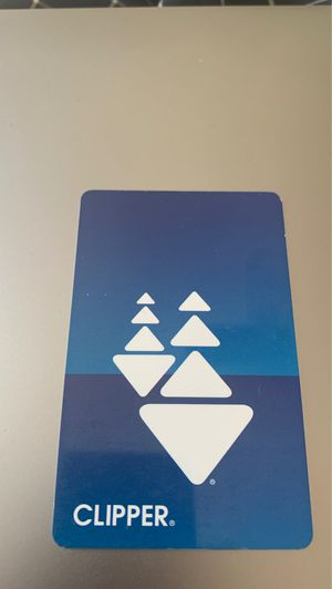 Clipper card with 216$ value for Sale in San Francisco, CA