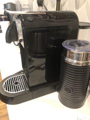 Nespresso citiz with 30-40 pods for Sale in Raleigh, NC