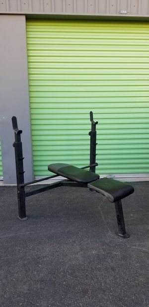 Weight bench adjustable for Sale in North Las Vegas, NV