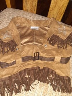 Girls Little Suede Outfit for Sale in Lutz,  FL