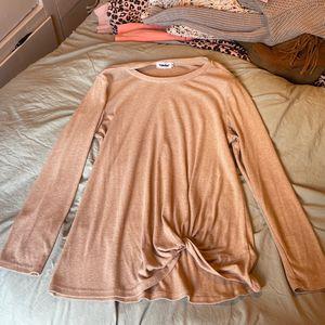 Women's Beige Long Sleeve Shirt for Sale in Aberdeen, WA