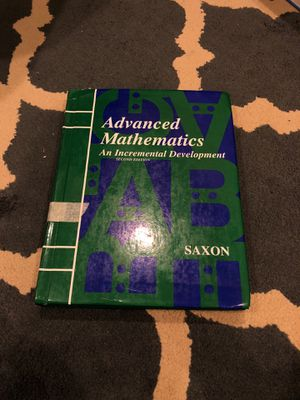 Saxon Advanced Mathematics. 2nd Ed for Sale in Avondale, AZ