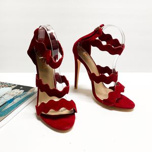 size 11 FSJ Women Comfy Bridal Open Toe Stiletto Heel Pumps Sandals for Sale in Las Vegas, NV