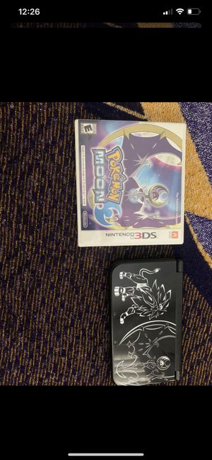 Pokémon Lunala Nintendo 3DS with Moon for Sale in Long Beach, CA