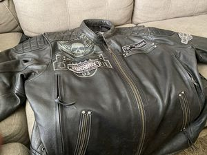 Authentic Harley Davidson leather riding jacket 4X for Sale in Columbus, OH