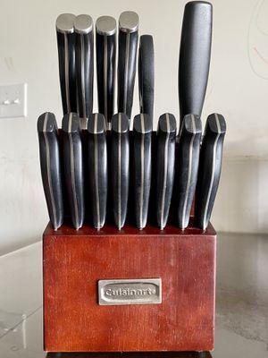 Cuisinart 15 pc Knife block set for Sale in Mechanicsburg, PA