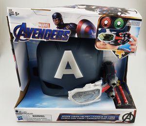 Hasbro Marvel Avengers Captain America Scope Vision Helmet w/ 2 Color Lights New (75363) for Sale in Austin, TX
