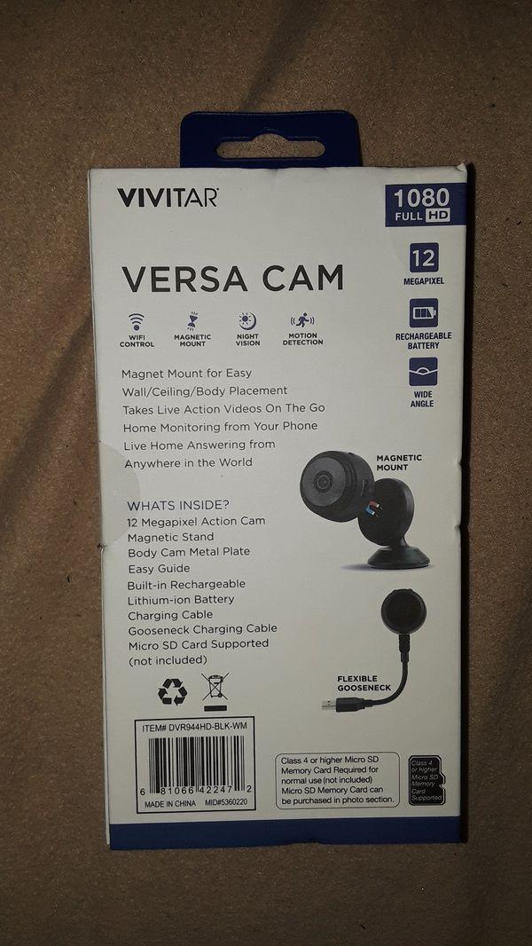 Versa Camera (Security Camera.) Wi-Fi Camera.