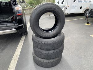 4 Brand new Bridgestone Dueler HT tires (265/70R17) for Sale in Tacoma, WA