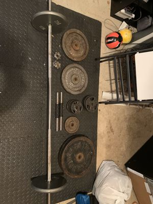 Set of weights to ANYONE WITH BEST OFFER for Sale in Newport News, VA