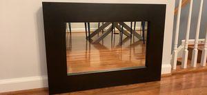 Espresso color West Elm mirror for Sale in Arlington, VA