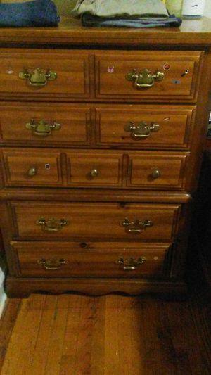 Solid wood dresser. 60 for Sale in Hyattsville, MD