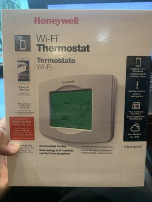 Honeywell Wifi Thermostat for Sale in Houston, TX