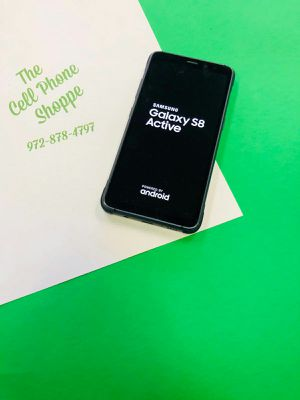 Samsung Galaxy S8 Active(Black) Unlocked For Sale! for Sale in Carrollton, TX