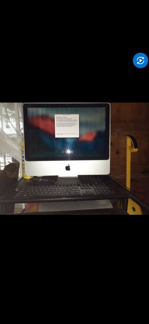 2009 22inch iMac for Sale in Houston, TX