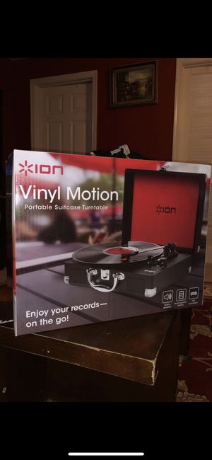 ION Vinyl Motion Turntable for Sale in Centreville, VA