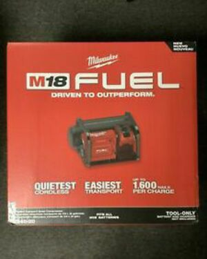 Milwaukee M18 FUEL 18-Volt Lithium-Ion Brushless Cordless 2 Gal. Electric Compact Quiet Compressor (Tool-Only) for Sale in Stickney, IL