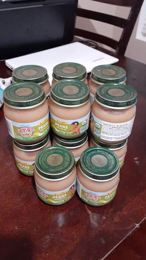 Free baby food 14 cans pear fruits exp dec 21 a21 for Sale in Hemet, CA