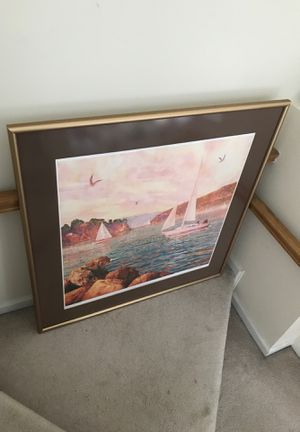 Sail boat painting for Sale in Cary, NC