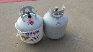 Propane tanks. Full. 2 available for Sale in Plano, TX