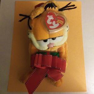Christmas Garfield Ty Beanie Baby for Sale in New Franklin, OH