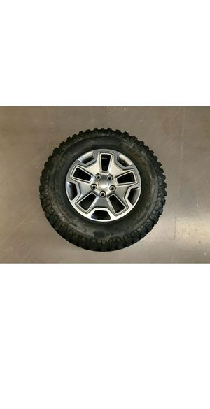 """17"""" Jeep Wrangler Rubicon JK 2013-2018 Factory Wheel Rim OEM Spare for Sale in Tomball, TX"""