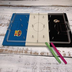 """Futbolito"" Table Top Soccer ⚽️⚽️🥅 Game BARCELONA vs REAL MADRID (SHIPPING ONLY 📦📬 , NO LOCAL PICK UPS) for Sale in Los Angeles, CA"