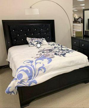 BRAND NEW💥Micah Black LED Panel Bedroom Set for Sale in Jessup, MD