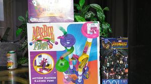 20$ toys you will be getting a puzzle, a card game, marble frenzy! for Sale in Princeton, FL