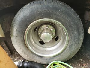 Dually set wheels n tires for Sale in Elizabeth, PA