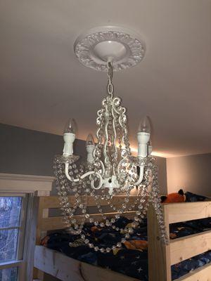 White chandelier for Sale in Groveland, MA