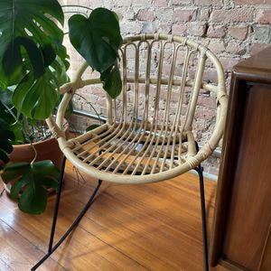Rocking Wicker Chair Boho style for Sale in Brooklyn, NY
