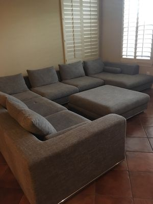 Copenhagen Couch and Ottoman for Sale in Goodyear, AZ