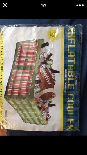 Inflatable touchdown cooler for Sale in Daly City, CA