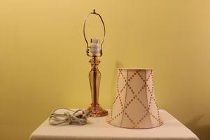 Pink lamp for Sale in Glenn Dale, MD