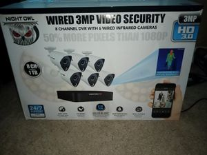 New $550 Security system only$300! for Sale in Brentwood, NC