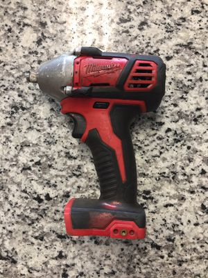 """Milwaukee 2658-20 M18 Cordless Li-Ion 3/8"""" Impact Wrench w/ Friction Bare Tool #12864-1 for Sale in Revere, MA"""