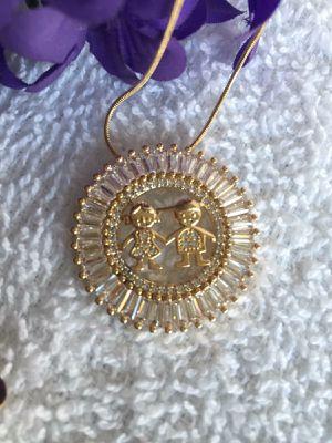 1 boy 1 girl necklace for Sale in Las Vegas, NV