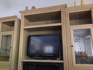 FREE Three piece wood wall unit furniture for Sale in Mesa, AZ