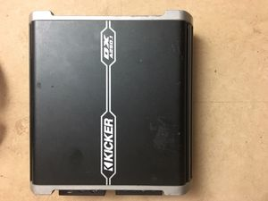 Kicker 250 watt amp (Need to sell 4th of July weekend!) for Sale in Lynchburg, VA