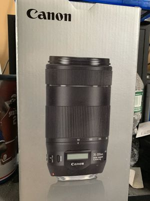 Canon NEW EF 70-300mm f/4-5.6 IS ll USM Lens for Sale in Manhasset, NY