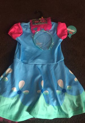 Small toddler poppy costume for Sale in Salt Lake City, UT